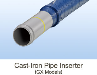 DFP Cast Iron Pipe Inserter